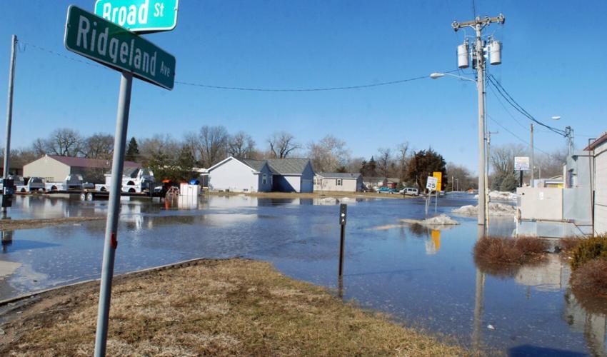 Flooding.