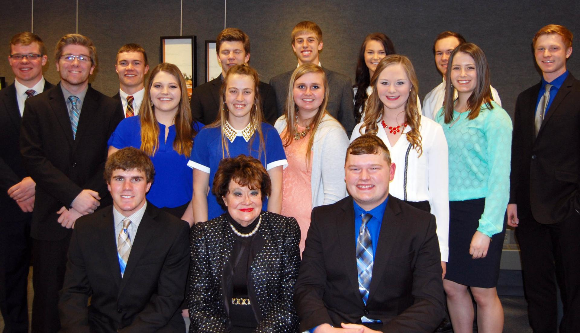 2017 Harlan Scholarship Recipients